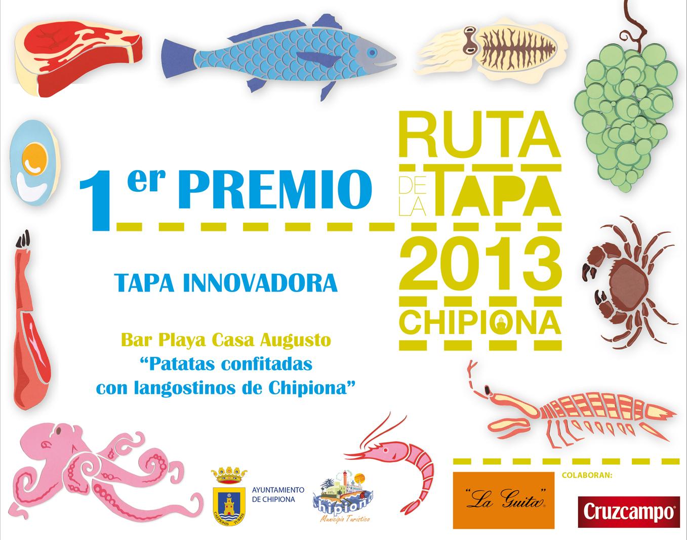 primeros premios ruta de la tapa 20132